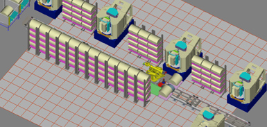 Manufacturing System Simulation