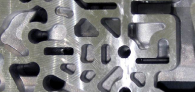High Speed Machining of Aluminum Valve Bodies