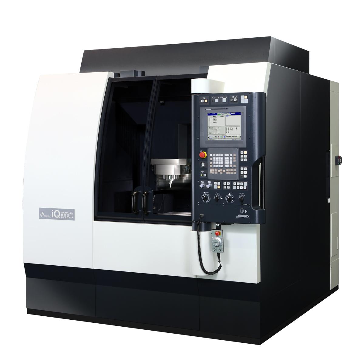 Makino Releases Iq300 Precision Micromachining Center Makino