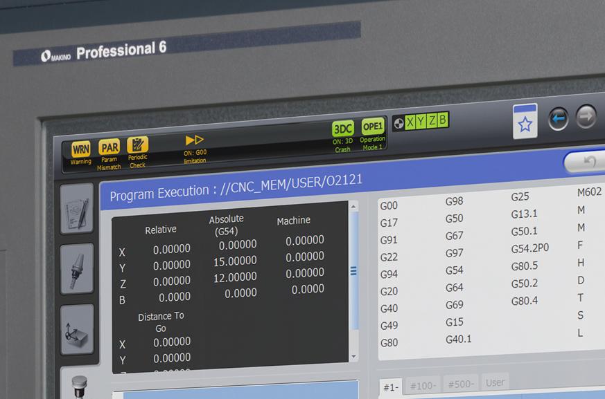 Control Software | Makino